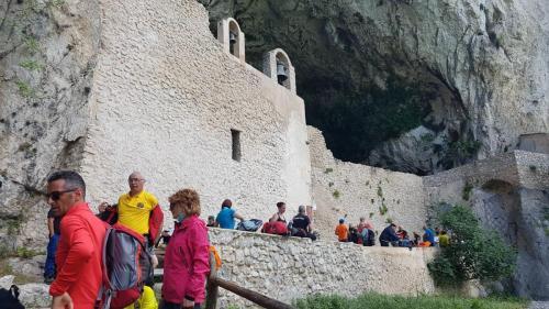 Ingresso grotta di San michele