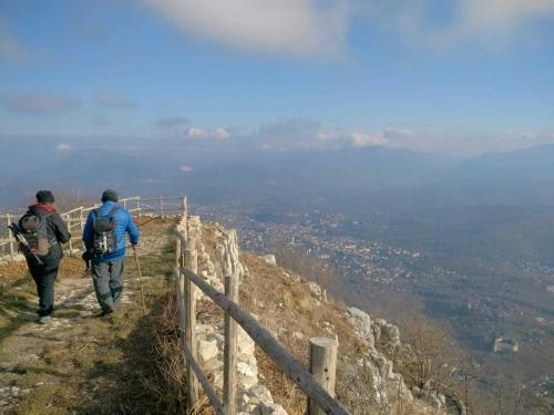 Escursione M. Vergine il sentiero del pellegrino