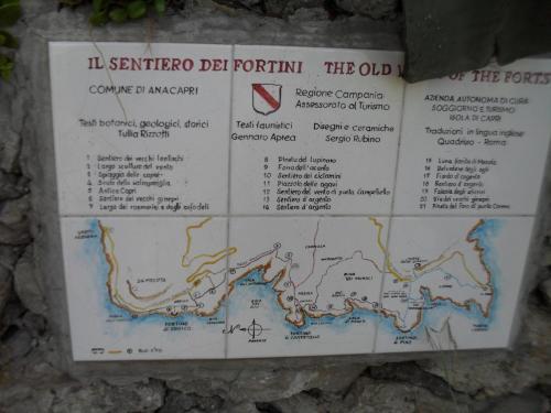 Sentiero fortini di Capri
