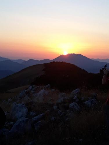 tramonto sul Raiamagra